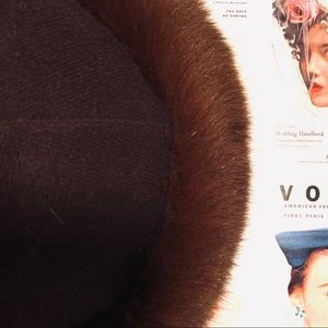 🎭KATE'S BOUTIQUE FROM CANADA FUR HAT🎭